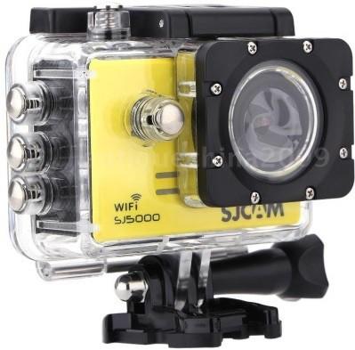 SJCAM 5000 Wifi _111 Lens f= 2.99mm� Camcorder Camera(Yellow)