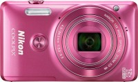 Nikon S6900 Point & Shoot Camera(Pink)