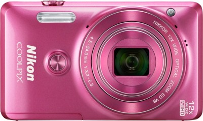 Nikon S6900 Point & Shoot Camera(Pink)