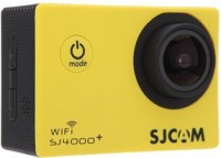 SJCAM SJ4000 WIFI PLUS 170 degrees A  grade HD wide angle Sports & Action Camera(Yellow)