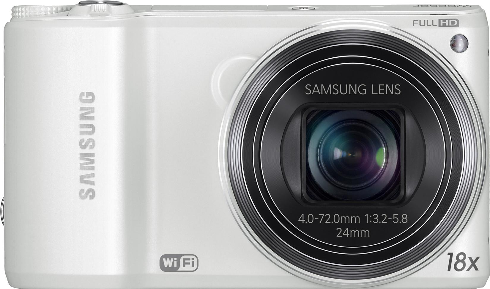 SAMSUNG WB250F Point & Shoot Camera(White)