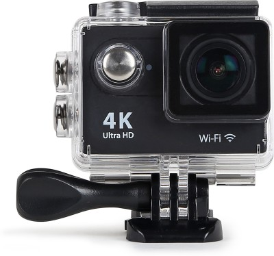 ENRG EPICAM(BLACK) Camera with battery & multiple mountings Sports & Action Camera(Black)