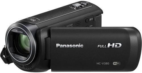 Panasonic HC-V380K Full HD Camcorder Camera(Black)