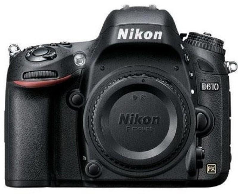 nikon d610 24.3 megapixel digitalslr camera body only kit without lens 4gb card
