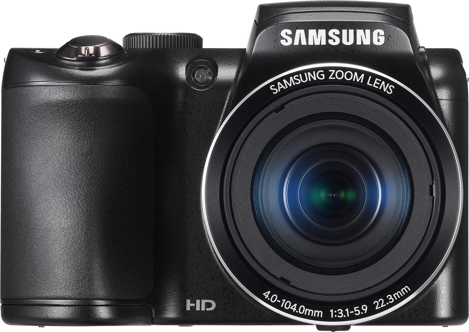 SAMSUNG WB100 Point & Shoot Camera(Black)