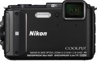 Nikon AW130 Point & Shoot Camera(Black)