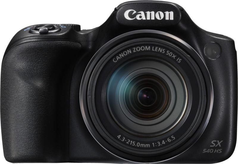 canon powershot sx540 hs point & shoot camera