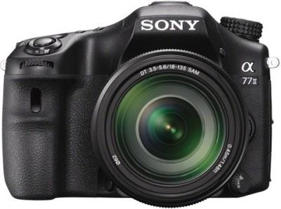 Sony ILCA-77M2M DSLR Camera with SAL18135 Lens Mirrorless Camera