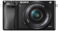 Sony ILCE-6000L with SELP1650 Lens Mirrorless Camera(Black)