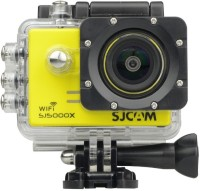 SJCAM sjcam5000x _021 Lens f= 2.99mm�  Camcorder Camera(Yellow)