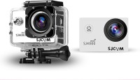 Sjcam 4000 Wifi _ 00002 Lens f  2.99mm     Camcorder Camera(White)