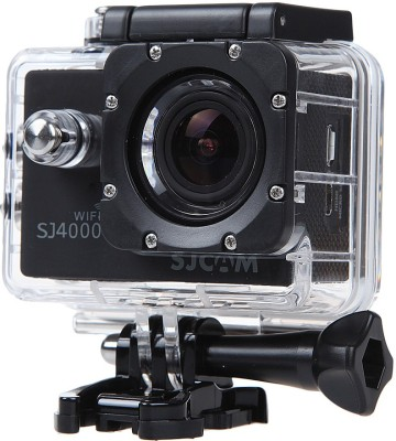 Mobilegear SJCAM SJ4000 12 MP WiFi 1080P Full HD Waterproof Digital Action Camera & Sports Camcorder With Accessories Body only Sports & Action Camera(Black)