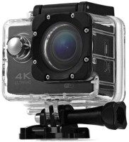 Mobilegear 4K Ultra HD 12 MP WiFi Waterproof Digital Action & Sports Camcorder With Accessories Body Only Sports & Action Camera(Black)