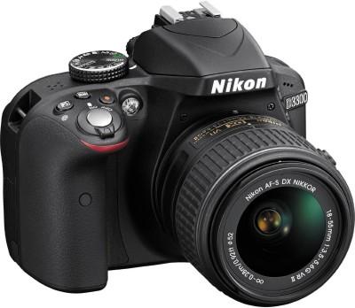 Nikon D3300 with AF-P 18-55 mm F/3.5-5.6G VR + AF-S 55-200 mm F/4-5.6G ED VR II DSLR Camera