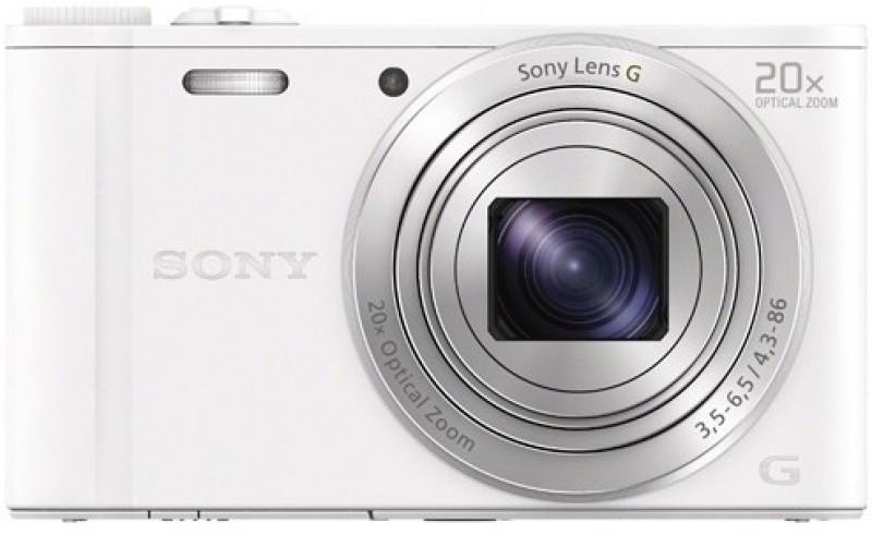 sony dsc-wx350 18.2 megapixels digital camera - black