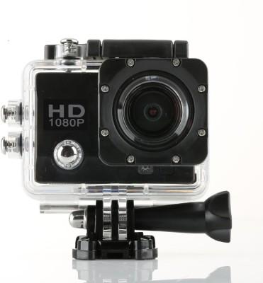 "Wonder World â""¢ Sports Action Cam Holder Sports & Action Camera(Black)"