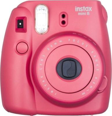 Fujifilm Instax Mini 8 Instant Camera(Raspberry)