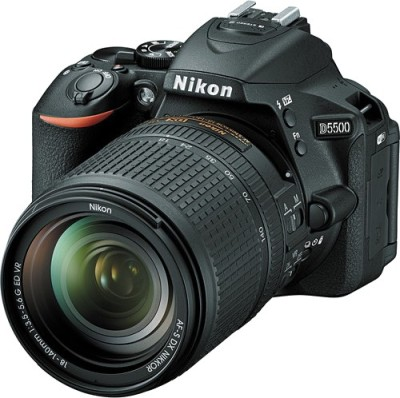 Nikon D5500 with (18 - 140 Lens) DSLR Camera(Black)