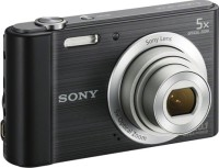 Sony DSC-W800/BC E32 Point & Shoot Camera(Black)