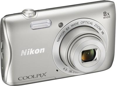 Nikon Silver S3700 Coolpix Camera Mirrorless Camera