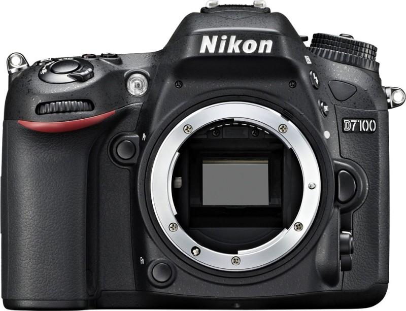 nikon d7100 24.2 mp dslr camera body + bill + nikon warranty