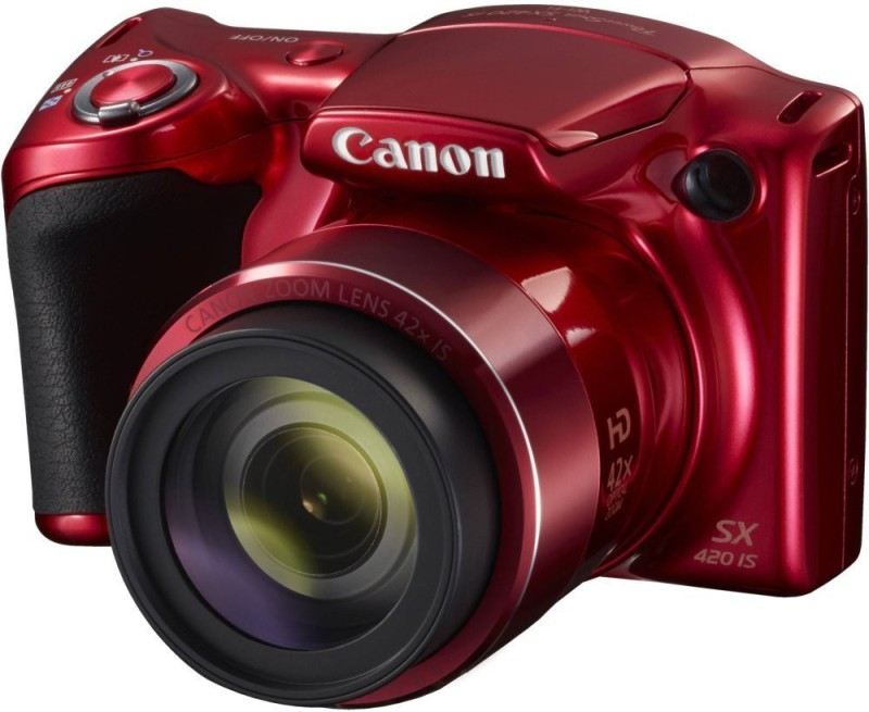 canon powershot sx420 is digital camera 42x optical zoom 8gb card & pouch