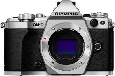 Olympus OMD E-M5 Mark II (Silver (Only Body) with 8GB Card Mirrorless) DSLR Camera