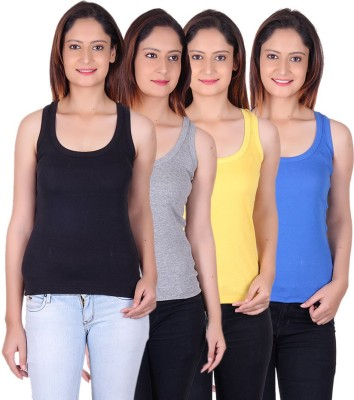 White Moon Women's Camisole at flipkart