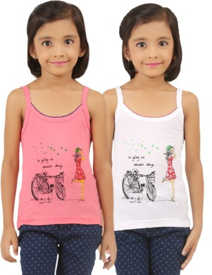 Vica Pota Camisole For Girls(Pink)