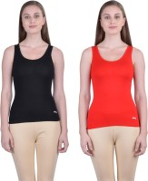 Dollar Women's Clothing - Dollar Missy Casual Sleeveless Solid Women's Multicolor Top