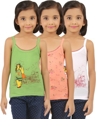 Vica Pota Camisole For Girls(Multicolor, Pack of 3)