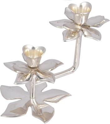 Metallic Kreationz Brass 2 - Cup Candle Holder