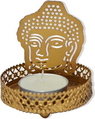 Shagun For You Buddha Brass 1 - Cup Tealight Holder