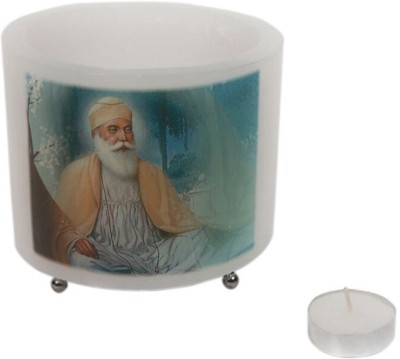 Technomart Guru Nanak Candle Holder Steel 1 - Cup Tealight Holder Set