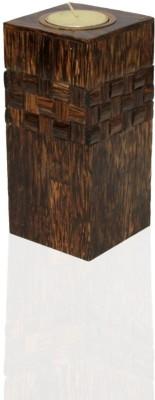 opulent homes Wooden Tealight Holder