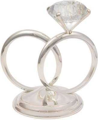 JewelandGifts Home Decor - Candles & Fragrances Silver Plated 1 - Cup Tealight Holder(Silver, Pack of 1)
