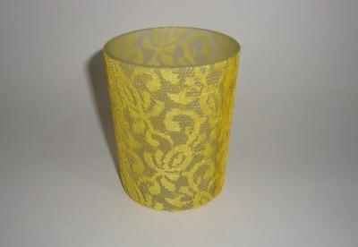 V Design N Decor Glass 1 - Cup Tealight Holder