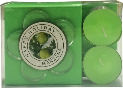 Toygully Glass 2 - Cup Tealight Holder Set