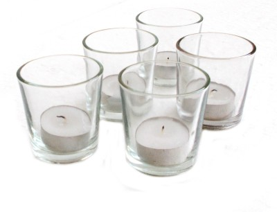 Inspired Living Glass Glass 5 - Cup Tealight Holder