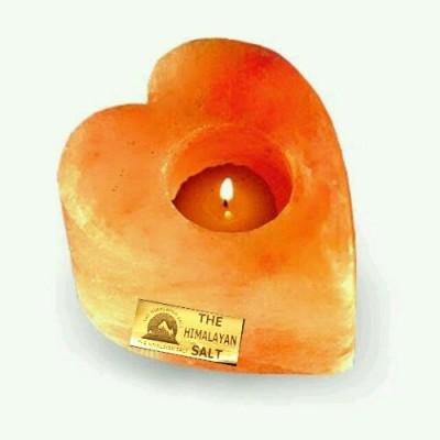 THE HIMALAYAN SALT Stoneware 1 - Cup Tealight Holder