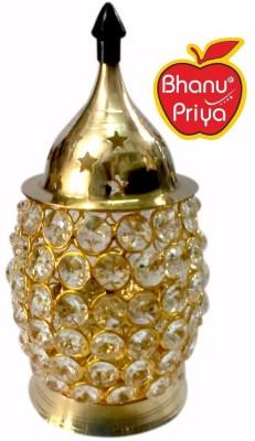 BHANU PRIYA Brass Candle Holder