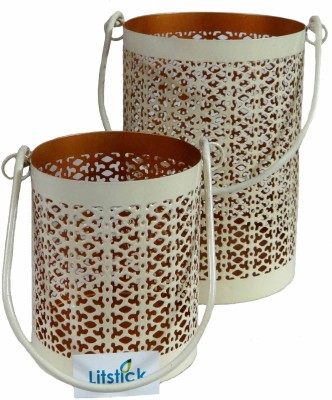 Litstick Iron 2 - Cup Candle Holder