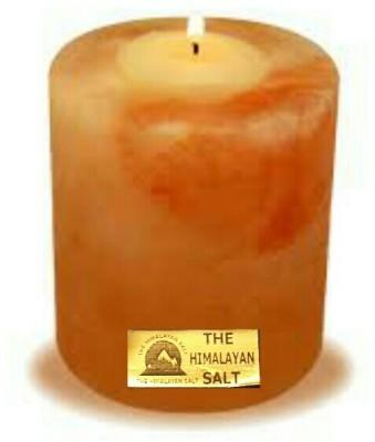 THE HIMALAYAN SALT Stoneware Tealight Holder