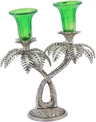 JaipurCrafts Decorative Tree Crystal 1 - Cup Candle Holder