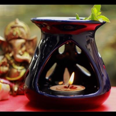 Unravel India Ceramic Tealight Holder