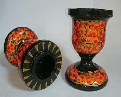 The Koshur Kul Floral Paper Candle Holder