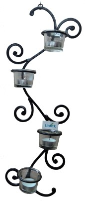 Litstick Iron 4 - Cup Candle Holder