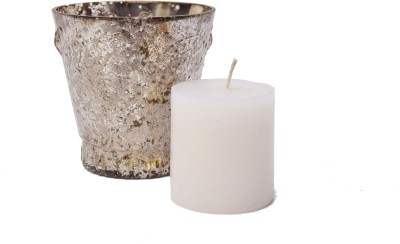 Veda Home & Lifestyle Glass Tealight Holder