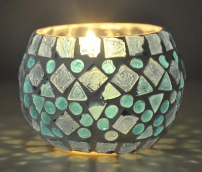 Lal Haveli glass hanging tea light candle holders tealight lanterns Glass 1 - Cup Tealight Holder