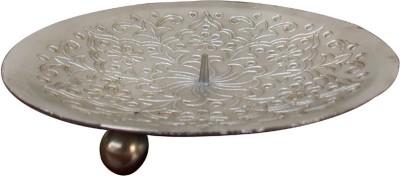 Indune Lifestyle Plate Iron Candle Holder